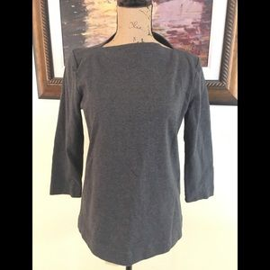 Kate Spade Saturday Gray Shirt